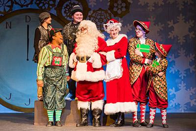 Happy Elf Cast