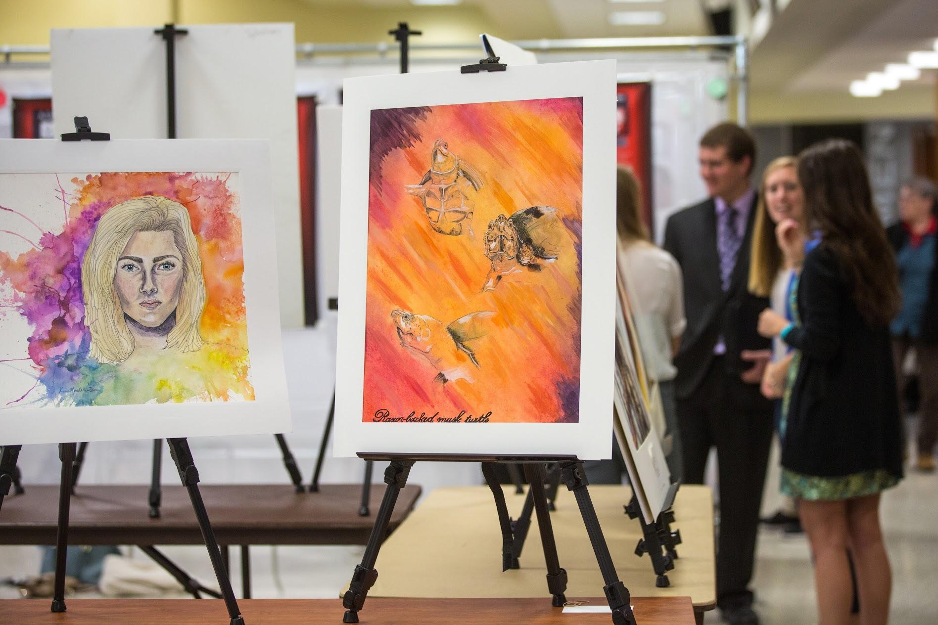 Art Prints on Exhibit.